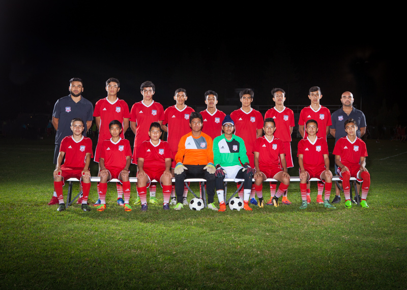 Boys U14 Red 1 Team